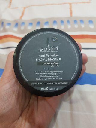 Sukin anti pollution oil balancing mask 100ml