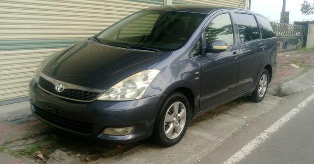2006 出廠 豐田  WISH 2.0  七人座 休旅車