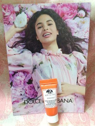 品木宣言ORIGINS  元氣十足亮膚水凝乳試用包 ($15~$88)