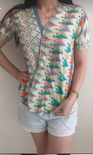 Batik asimetris