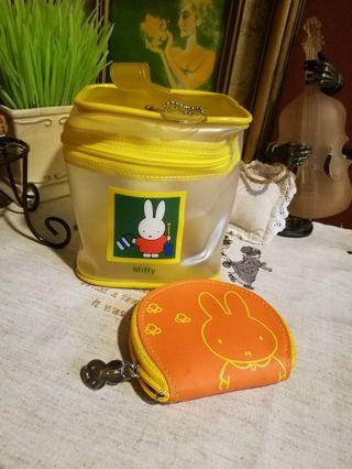 Japan miffy coin / accessories pouch x 2