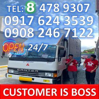 lipat bahay trucking services truck for rent hire rental elf canter