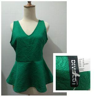 Peplum hijau