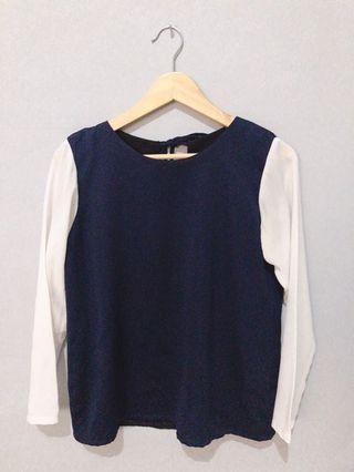 Shop at Velvet mix blouse