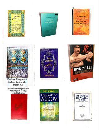 Assorted non-fiction books - Psychology/ Religion/ Spirituality - [OCT19]