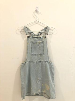 Cotton On Denim Overall Dress