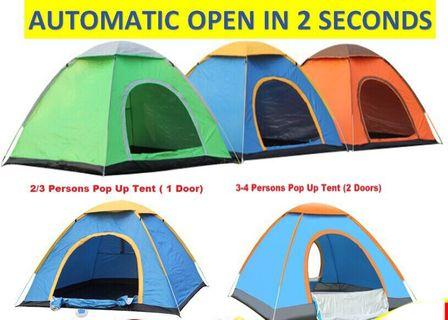 3-4 Persons Outdoor Tent
