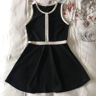 Black White Dress #Betul2Free