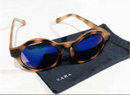 ZARA Leopard Sunglasses #joinoktober