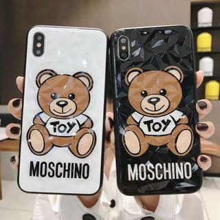 Case moschino untk iphone andro oppo