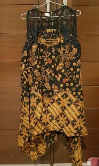 NEW ARRIVAL LA FLAIR BATIK UNIQUE DRESS