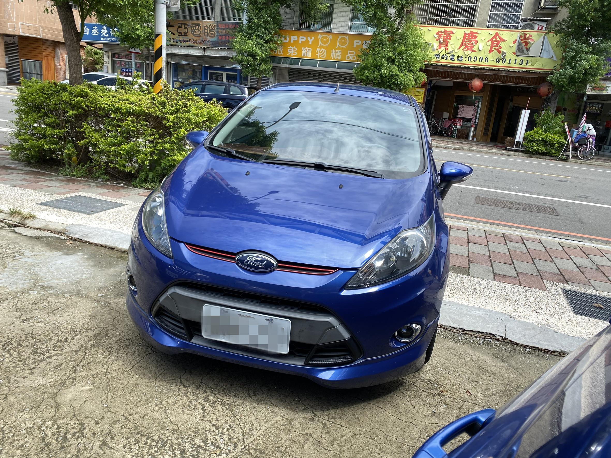 2012年 fiesta 1.6 藍色跑9萬 熱門車中古車二手車