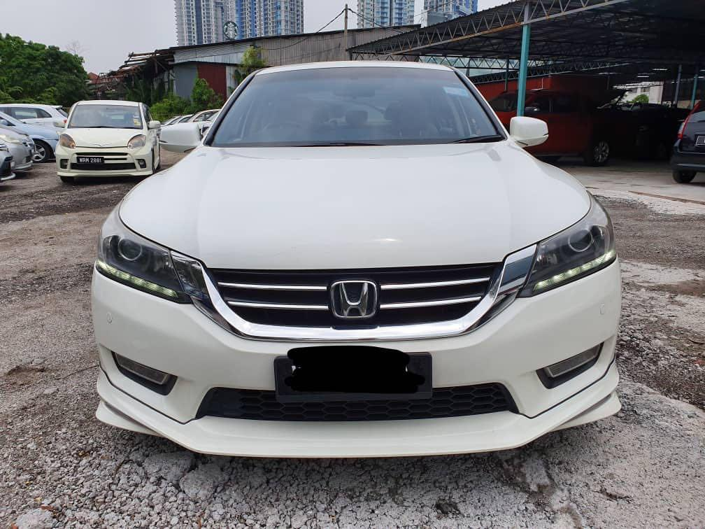 2014 Honda accord 2.0 i-vtec