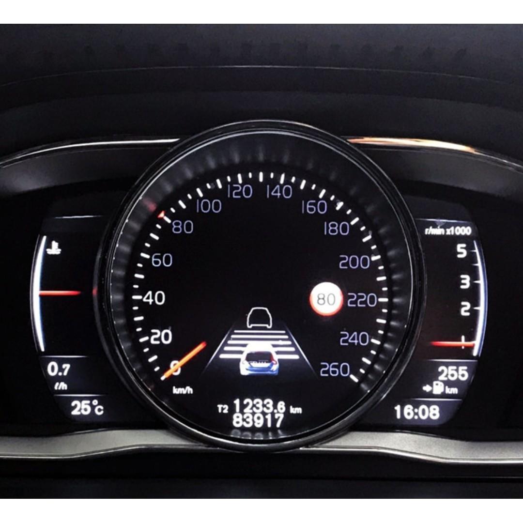 2014 VOLVO V60 旗艦版 ACC 車到偏移 盲點偵測 正一手車 全車原鈑