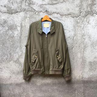 Jaket Harrington Casual Jacket Olive Green