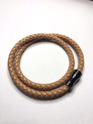 Leather bracelet warna Tan #joinoktober