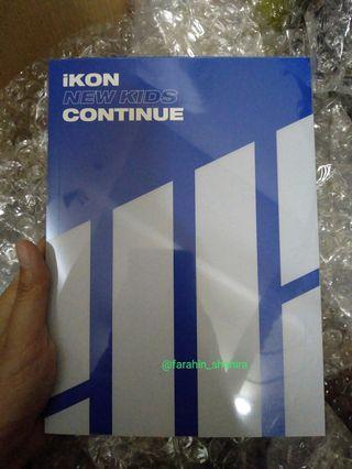 iKON Continue Album Blue version