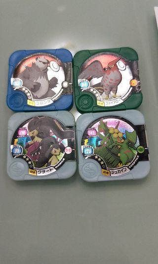 寶可夢3星卡4張一起賣