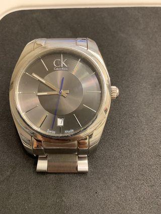 CK 42mm鋼帶錶