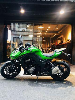 2015年 Kawasaki Z1000 ABS 四代 車況極優 可分期 免頭款 歡迎車換車 網路評價最優 業界分期利息最低 四缸 街車 Z800 Z900 Z1000SX 街魯 可參考