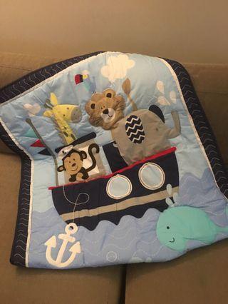 Baby quilt delicate bedding