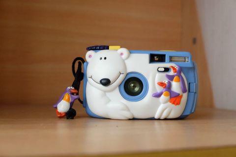 全新未拆 北極熊 底片相機
