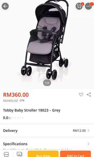 Tobby mydear stroller