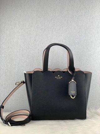 Kate Spade Mini Mina in Black/Dolce