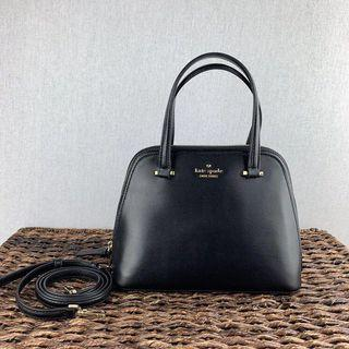 Kate Spade Small Dome Satchel in Black