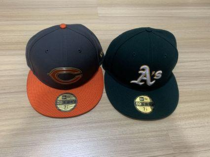 Authentic Neweracap Oakland & Chicago Bears