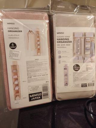 Miniso Hanging Organizer / Miniso / tempat penyimpanan