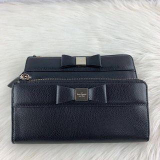 Kate Spade Nisha Wallet in Black