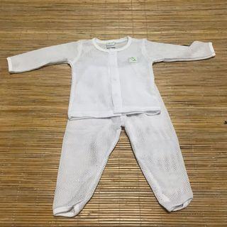 Baju Lubang Baby (Size 0-4mnt)