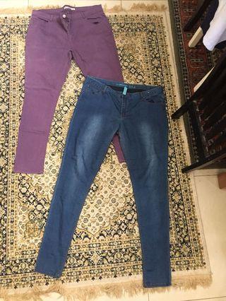 Dorothy Perkins & Denim.co jeans 18uk