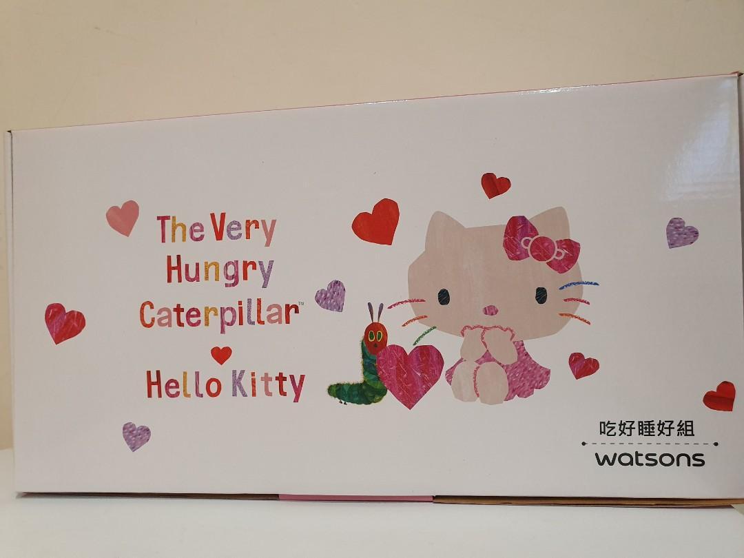 凱蒂貓午安枕,保溫罐組
