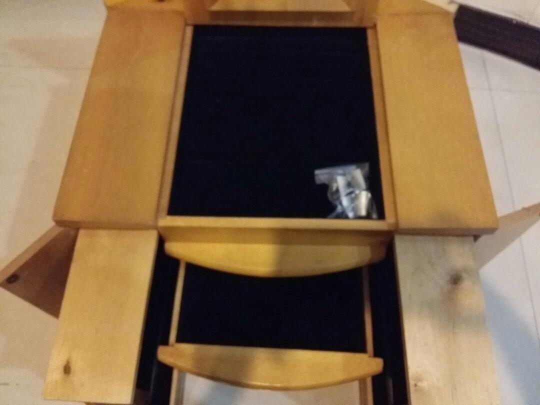 首飾盒 飾品架 收納 置物 掛鉤 多隔層