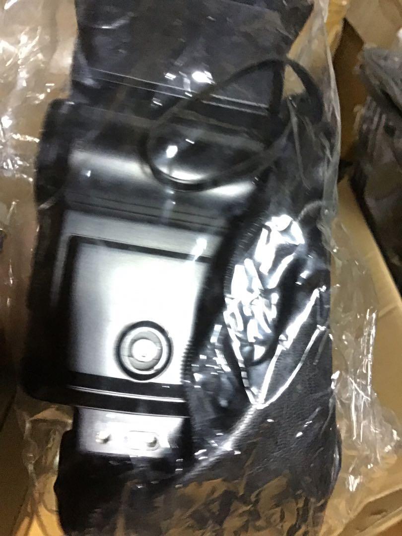 閃光燈 古典 底片 單眼相機 用 national PE 3057   可搖頭 含皮套 無電池