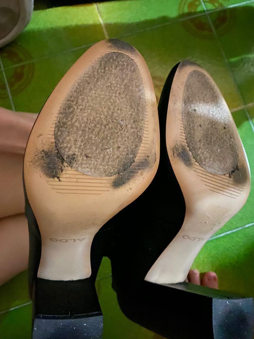 Aldo high cut boots