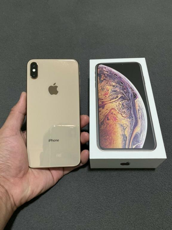 Apple iPhone XS Max 256GB Gold Unlocked Like New Condition with AppleCare+