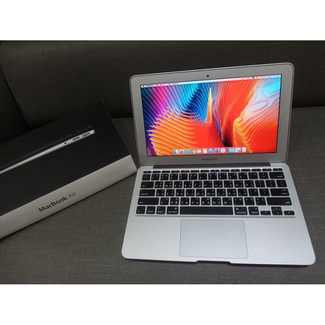 """【出售】Apple MacBook Air 11"""" i7/256GB 筆記型電腦 盒裝完整 9成新, 電腦3C, 桌 ..."""