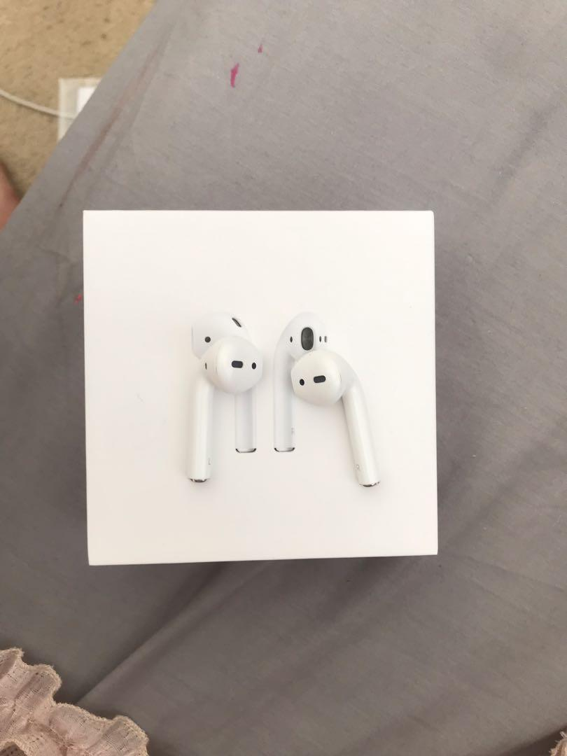 Authentic Apple Airpods With Charging Case and Box