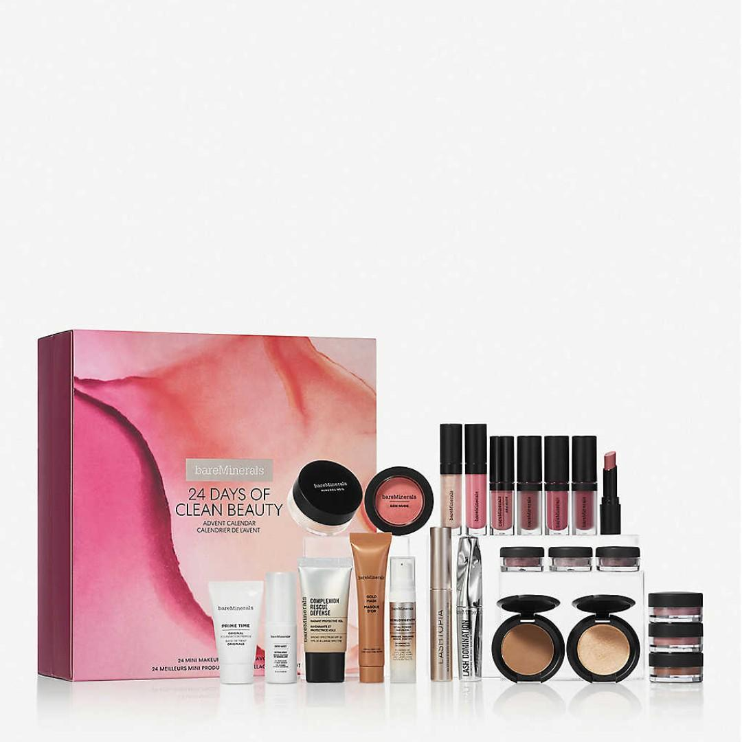 Bare Minerals 24 Days of Clean Beauty advent calendar, Health