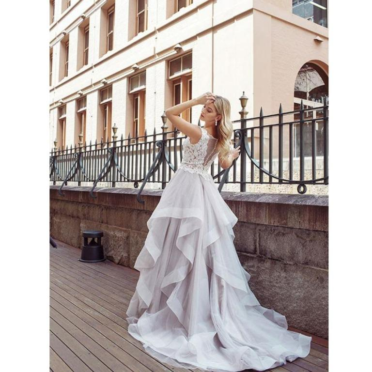 Bargain!! Perfect dress in Perfect condition for less than half the price! Mia Solano, DIOR Dream wedding gown for a bride to be!