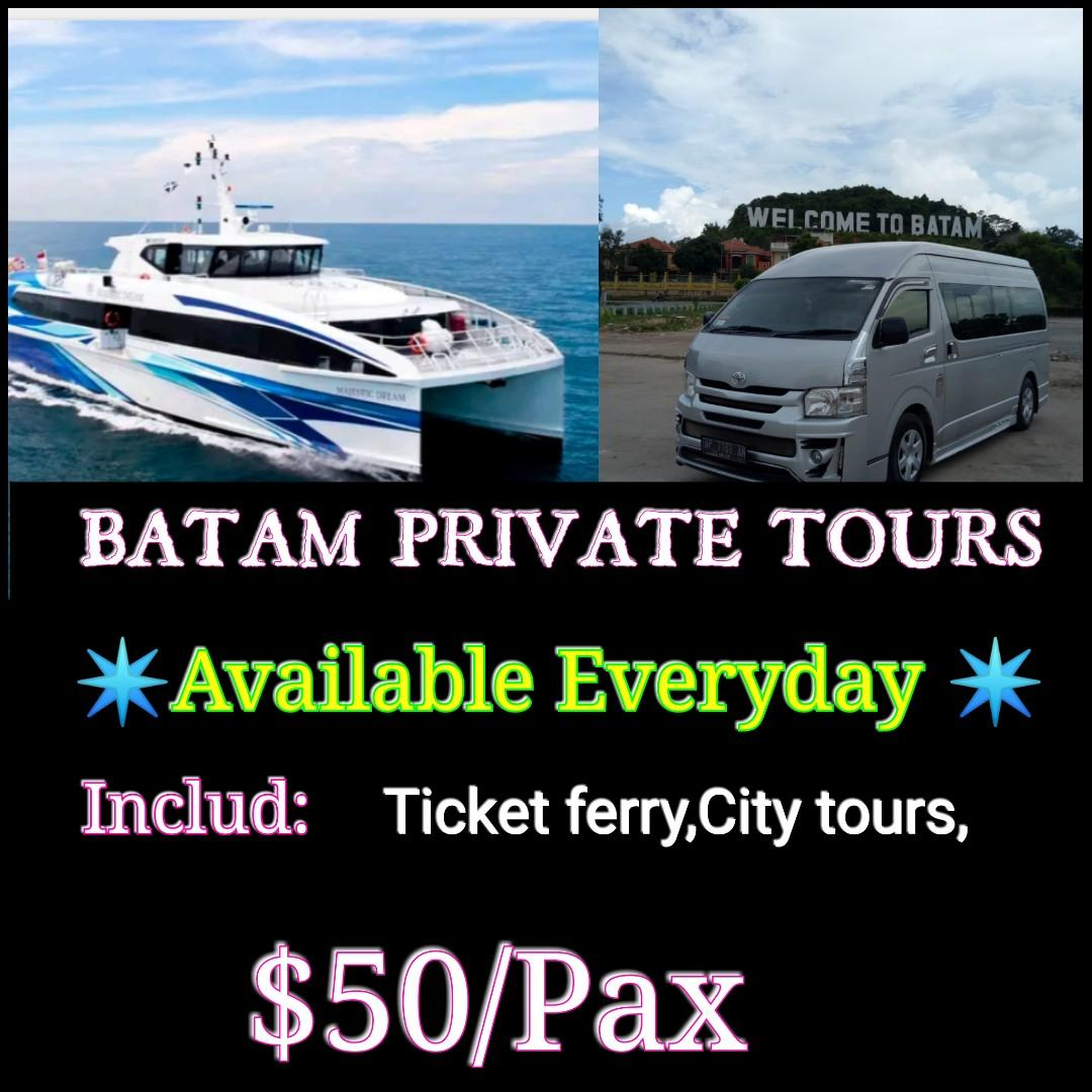 Bata private tour respond:http://www.wasap.my/+6281268204888