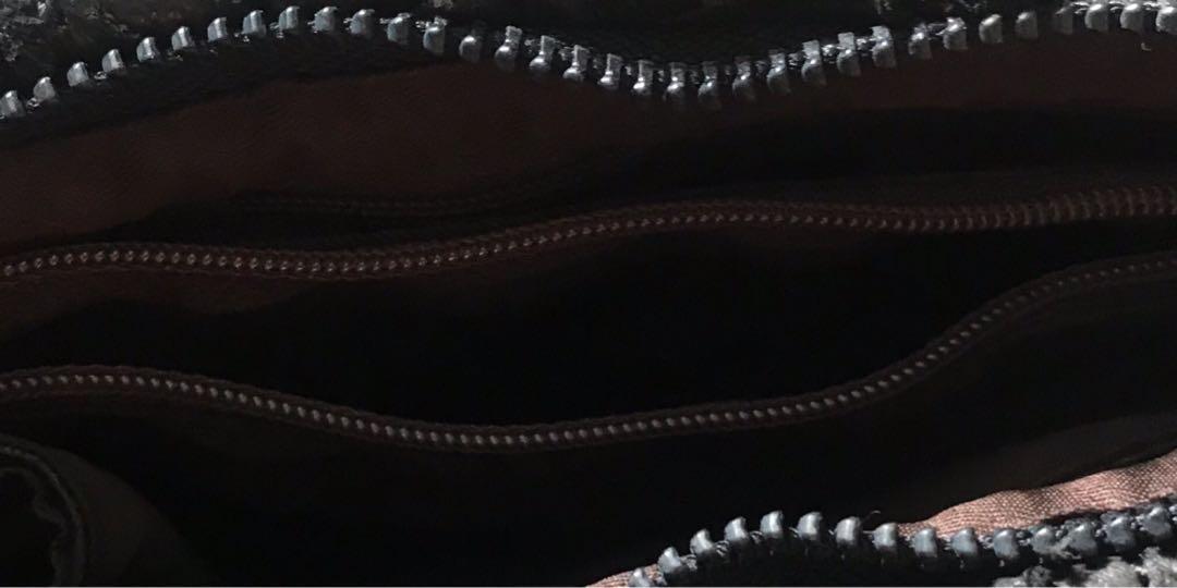 黑色真皮小手袋Black Leather bag#1010big