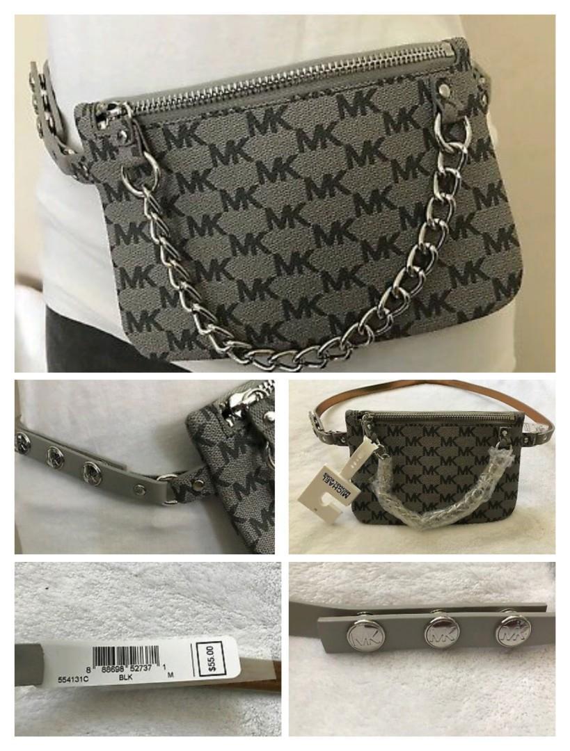 Brand New Authentic Original Michael Kors  Fanny Pack Bag Belt Waist Purse.