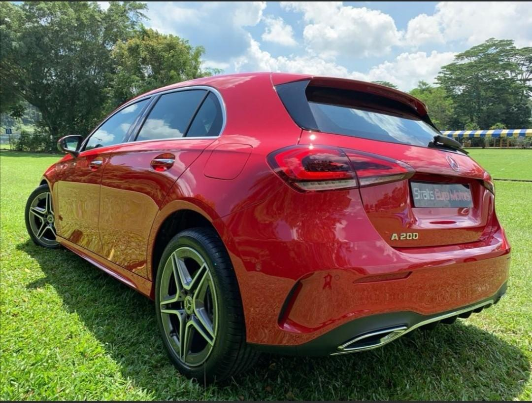 Brand New Mercedes Benz A200 AMG Line Premium For Rent