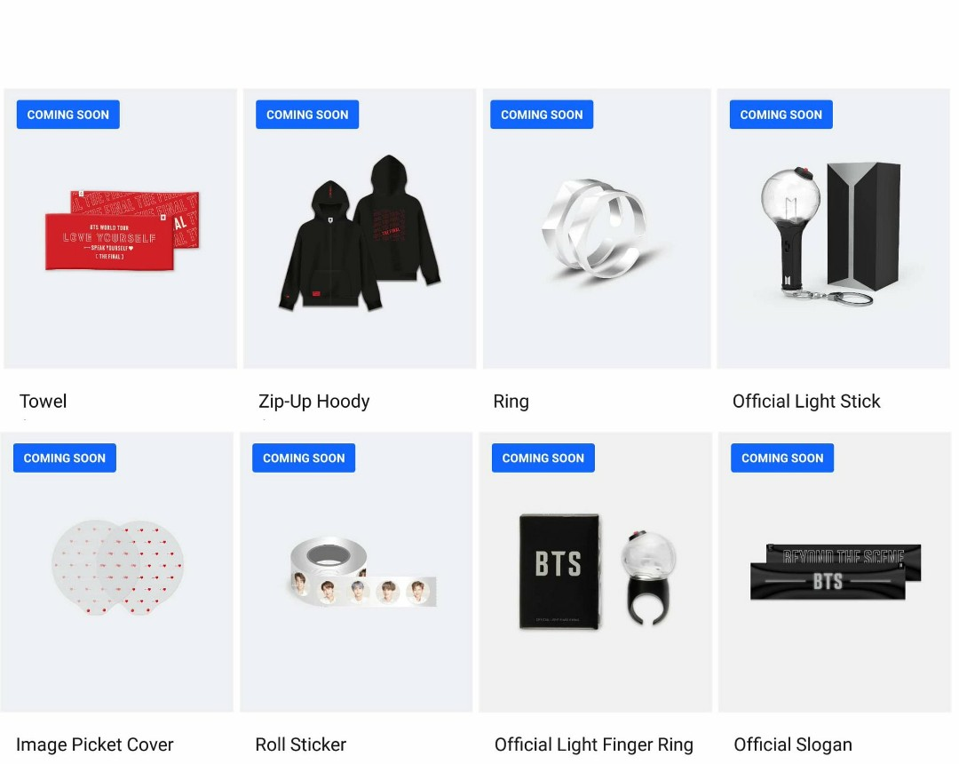 (WEPLY) BTS FINAL LOVE YOURSELF : SPEAK YOURSELF THE FINAL MERCHANDISE