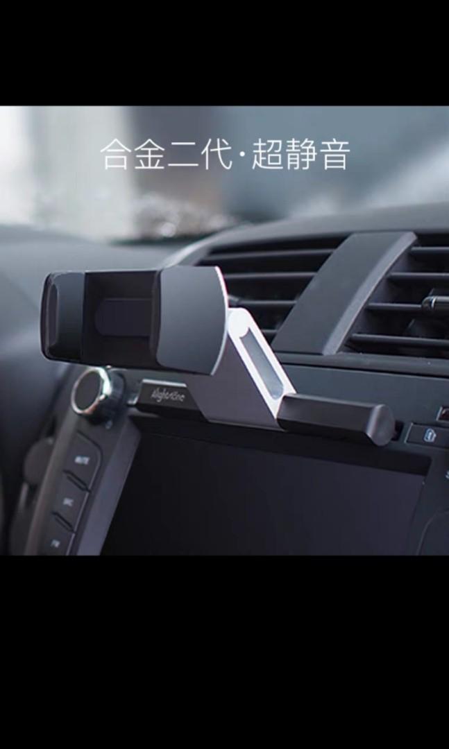 Car CD port car phone bracket car outlet creative navigation support frame buckle type multi-function universal