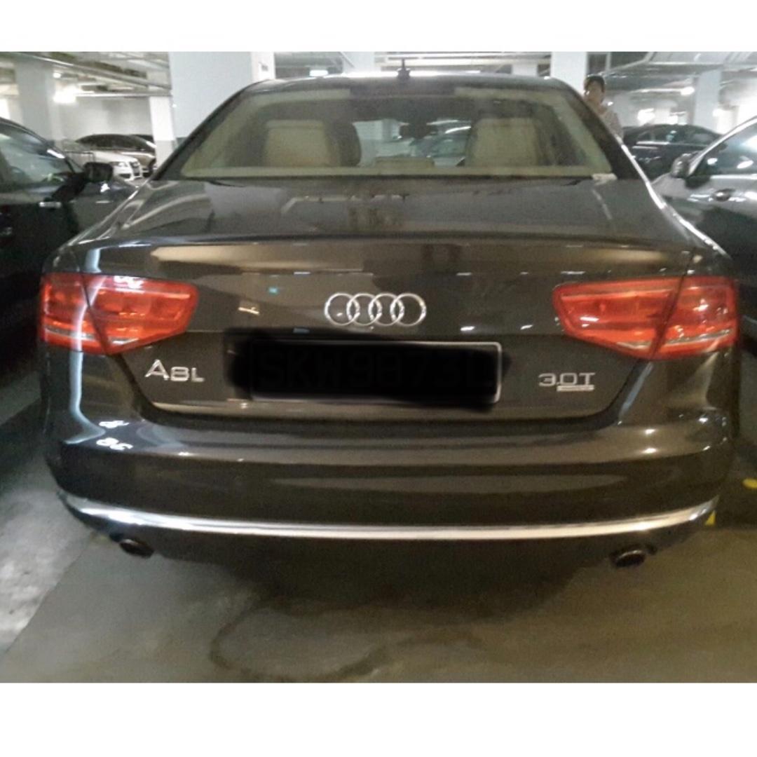 Car rental - Audi A8L